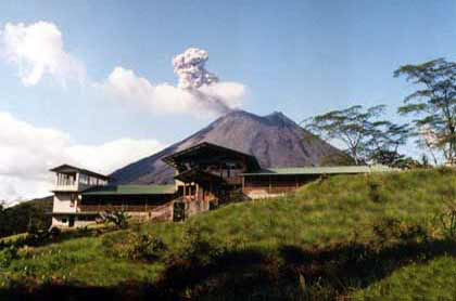 Arenal Observatory Lodge in Costa Rica.