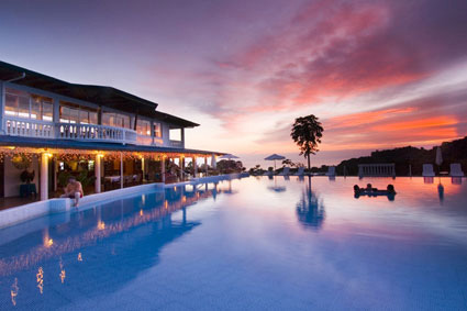 Cristal Ballena Hotel in the south Pacific region of Costa Rica.
