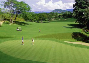 Hotel Paradisus golf course in Guanacaste.