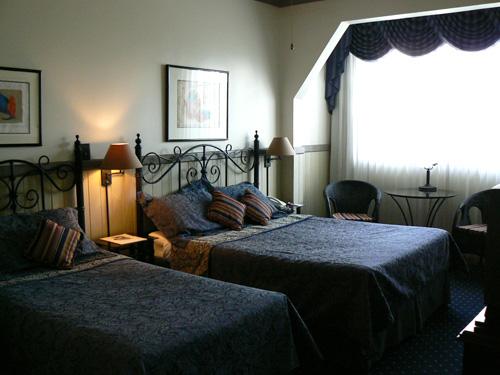 Hotel Grano de Oro standard room.