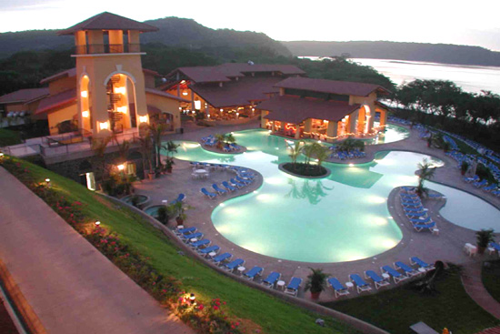 Four Seasons Hotel on Peninsula Papagayo, Costa Rica.
