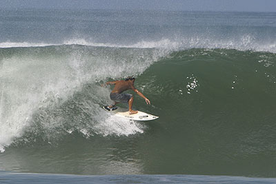Tamarindo surfing in Costa Rica.