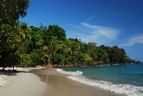 Beach in Manuel Antonio, Costa Rica.