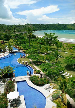 Los Suenos Marriott in Costa Rica.