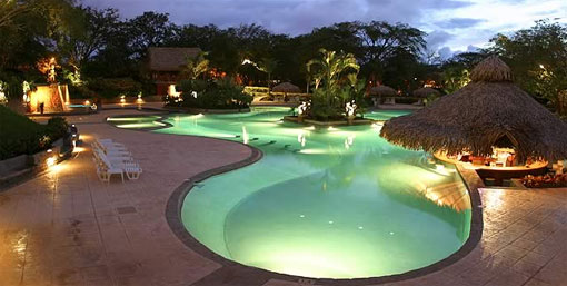 Pool at the Tamarindo Diria hotel in Costa Rica.