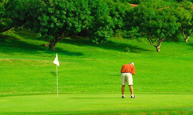 9-hole golf course near Punta Islita Resort in Costa Rica.