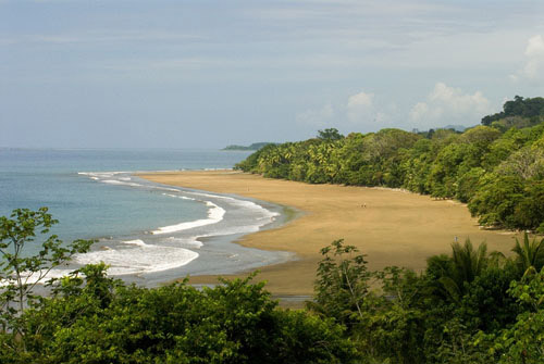 Ballena Marine Park in Costa Rica.