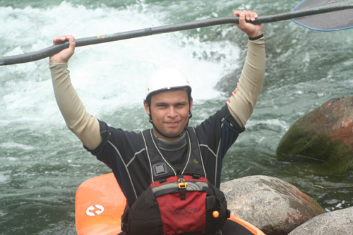 Costa Rica Expeditions River Guide, Juan Jose Sanchez.