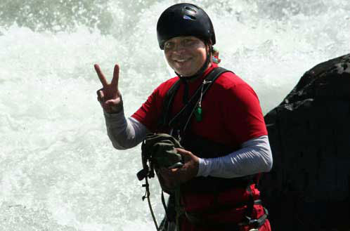 Gerardo Murillo, Costa Rica Expeditions River Guide.