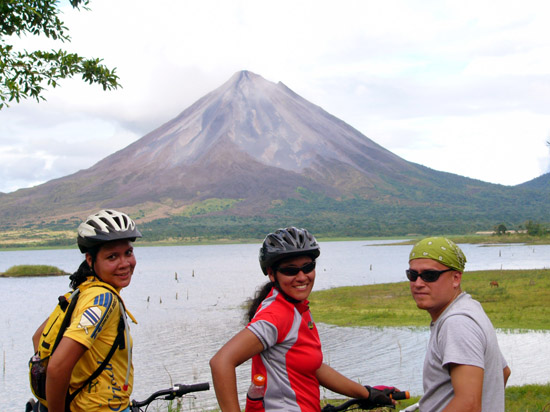 Costa Rica Expeditions biking tour in Arenal.
