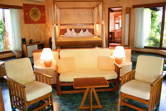 The Capitan Suiso Hotel is located on the beach in the Guanacaste Province of Costa Rica.