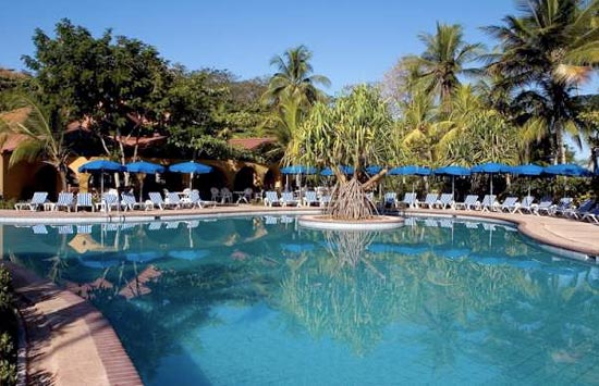 Punta Leona Resort pool in Costa Rica.