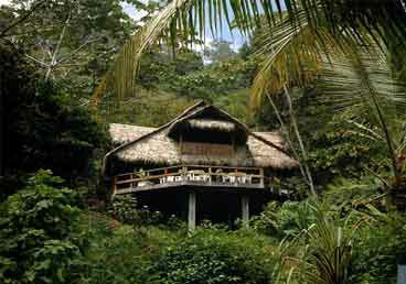 Hammock House at Corcovado Lodge in Costa Rica.