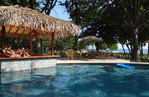 Pool at Hotel Flor Blanca in Guanacaste, Costa Rica.