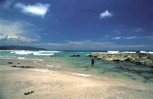 Santa Teresa Beach in Guanacaste, Costa Rica.