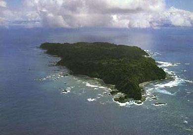 Isla del Cano, off Costa Rica's southern Pacific Coast.